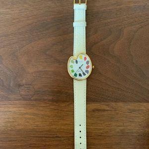Vintage Pearl Artist's Palette Watch